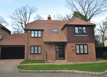Thumbnail 5 bed detached house to rent in Napier Drive, Camberley