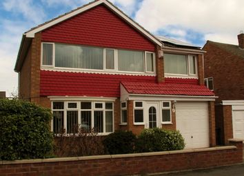 Thumbnail 5 bedroom detached house for sale in Runswick Avenue, Acklam, Middlesbrough