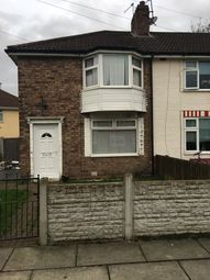 Thumbnail 3 bed end terrace house to rent in Marcham Way, Liverpool