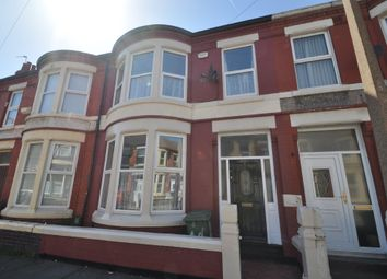 Thumbnail 3 bed terraced house to rent in Ilchester Road, Wallasey