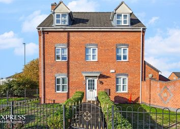 Thumbnail 4 bed detached house for sale in Hevea Road, Burton-On-Trent, Staffordshire