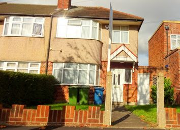 Thumbnail 3 bed end terrace house for sale in Leamington Road, South Harrow