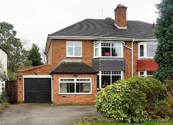 Thumbnail 3 bed semi-detached house for sale in Bickenhill Lane, Birmingham