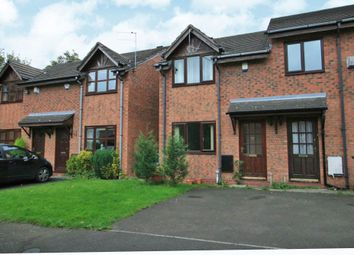 Thumbnail 2 bed semi-detached house for sale in Plattbrook Close, Manchester