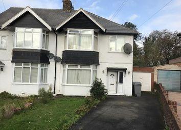 Thumbnail 3 bedroom semi-detached house for sale in Elmwood Crescent, Kingsbury