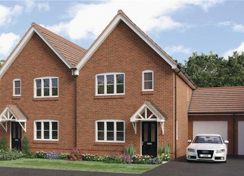 "Thumbnail 3 bedroom semi-detached house for sale in ""Pushkin"" at Worthing Road, Southwater, Horsham"