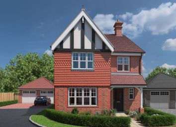 Thumbnail 3 bed detached house for sale in The Meadows, Shermanbury, Horsham