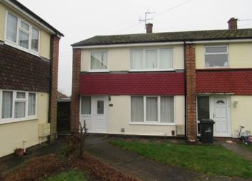 Thumbnail 3 bed end terrace house to rent in Hutson Drive, North Hykeham, Lincoln