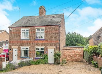 Thumbnail 3 bed semi-detached house for sale in Fridaybridge Road, Elm, Wisbech