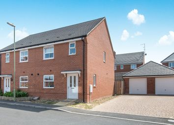 Thumbnail 3 bed semi-detached house for sale in Fleece Close, Andover