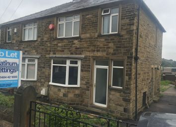Thumbnail 2 bed semi-detached house to rent in Storths Road, Birkby, Huddersfield