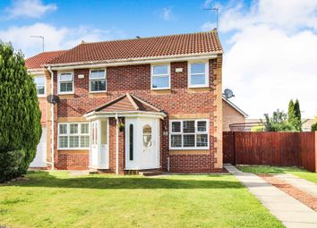 Thumbnail 2 bed semi-detached house for sale in Thornton Lea, Pelton, Chester Le Street