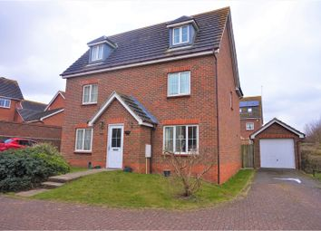 Thumbnail 5 bed detached house for sale in Stour Close, Harwich