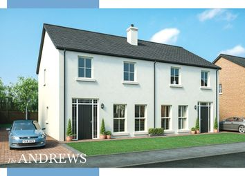 Thumbnail 3 bedroom semi-detached house for sale in Moorfield Avenue, Comber, Newtownards