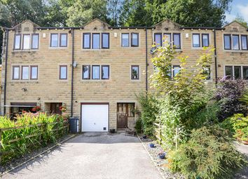 Thumbnail 3 bed terraced house for sale in Spring Bank, Luddenden, Halifax, West Yorkshire