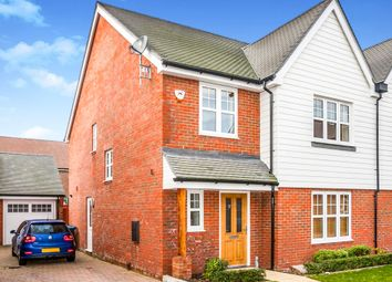Thumbnail 4 bedroom semi-detached house for sale in Hansom Way, Pease Pottage, Crawley