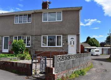 Thumbnail 2 bed end terrace house for sale in Croftfield Crescent, Newton, Swansea
