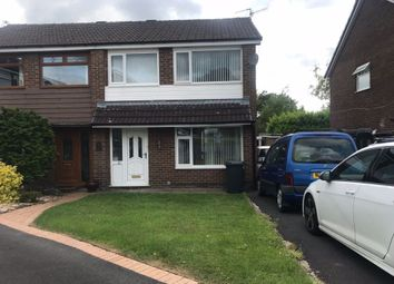 Thumbnail 3 bed semi-detached house to rent in Lodgeside, Clayton Le Moors, Accrington