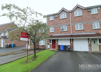 Thumbnail 3 bed town house to rent in Highclove Lane, Boothstown