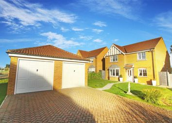 Thumbnail 4 bed detached house for sale in Longhirst Drive, Cramlington, Northumberland