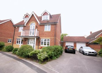 Thumbnail 5 bedroom detached house for sale in Corsair Close, Lee-On-The-Solent