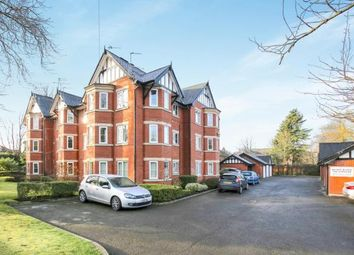 Thumbnail 2 bed flat for sale in The Crescent, Davenport, Stockport, Cheshire