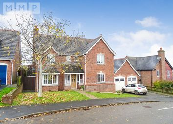 Thumbnail 4 bed detached house for sale in 2 Carneddau Close, Trefonen, Oswestry, Shropshire