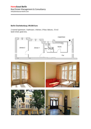 Thumbnail 1 bed triplex for sale in Charlottenburg-Wilmersdorf, Brandenburg And Berlin, Germany