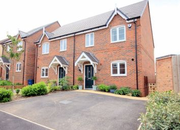 Thumbnail 3 bed semi-detached house for sale in Devereux Gardens, Great Haywood, Stafford