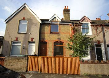Thumbnail 2 bed terraced house to rent in All Saints Road, Northfleet, Gravesend, Kent