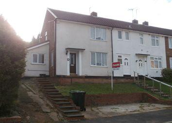 Thumbnail 2 bedroom end terrace house for sale in Whitethorn Road, Wordsley, Stourbridge