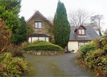 Thumbnail 4 bed detached house for sale in Llansteffan, Carmarthen