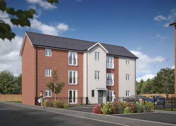 "Thumbnail 2 bedroom flat for sale in ""The Corby "" at Howsmoor Lane, Emersons Green, Bristol"