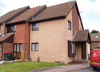 Thumbnail 1 bed terraced house to rent in Guinevere Road, Ifield, Crawley