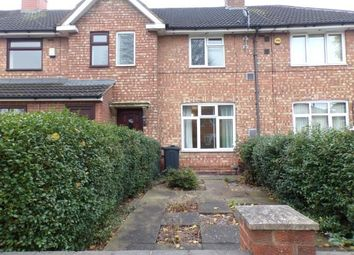 Thumbnail 3 bed terraced house for sale in Folliott Road, Birmingham, West Midlands