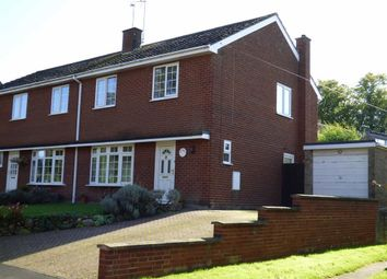 Thumbnail 3 bed semi-detached house for sale in Crabtree Lane, Cold Ashby, Northampton