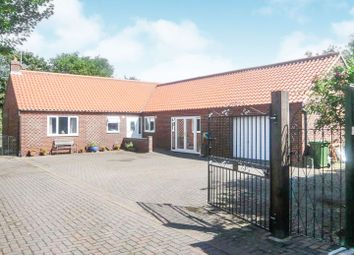 Thumbnail 4 bed detached bungalow for sale in Main Road, Holme Next The Sea, Hunstanton