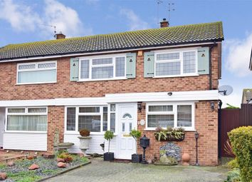 Thumbnail 3 bed semi-detached house for sale in Mellanby Close, Birchington, Kent