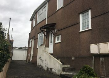 Thumbnail 1 bed flat to rent in Swaindale Road, Plymouth