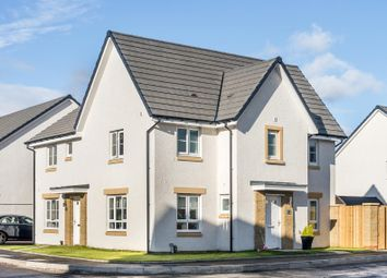 "Thumbnail 3 bed semi-detached house for sale in ""Abergeldie"" at Barochan Road, Houston, Johnstone"
