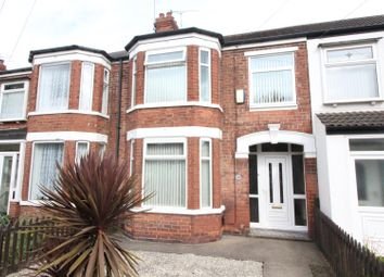 Thumbnail 3 bed terraced house for sale in Fairfax Avenue, Hull