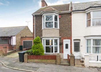 Thumbnail 2 bedroom end terrace house for sale in Holly Road, Ramsgate
