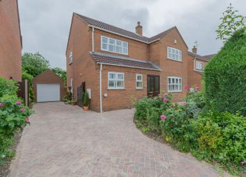 Thumbnail 4 bed detached house for sale in Melander Close, York
