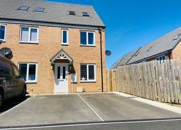 Thumbnail 3 bed end terrace house for sale in Furnace Close, North Hykeham, Lincoln