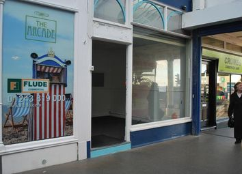 Thumbnail Retail premises to let in Unit 8 The Arcade, High Street, Bognor Regis, West Sussex