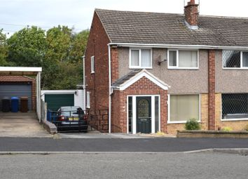 Thumbnail 3 bed semi-detached house for sale in Sunningdale Drive, Kirk Hallam, Ilkeston, Derbyshire