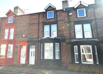 Thumbnail 4 bed terraced house to rent in Harrington Road, Workington
