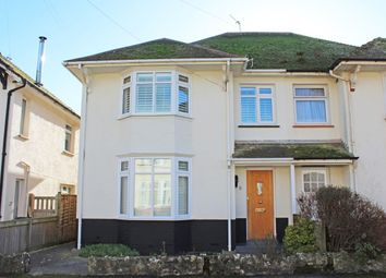 Thumbnail 3 bed semi-detached house for sale in Connaught Road, Sidmouth