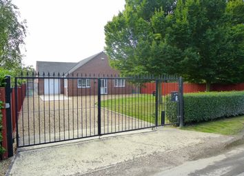 Thumbnail 3 bed detached bungalow for sale in Cross Road, Sutton St. Edmund, Spalding