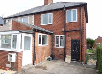 Thumbnail 3 bedroom semi-detached house to rent in Elizabeth Street, Widdrington, Morpeth